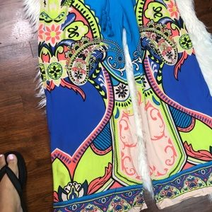 Flying Tomato Pants - Flying tomato wide leg pants Multicolor size L